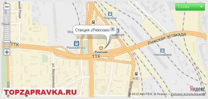 ремонт принтера, заправка картриджей метро «Рижская»