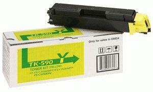 Заправка картриджа Kyocera TK-590Y (1T02KVANL0)