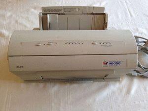 ремонт принтера ALPS MD-2300