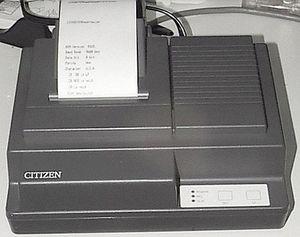 ремонт принтера CITIZEN IDP-562