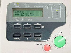 ремонт принтера KYOCERA FS-9500DN
