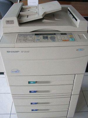 ремонт принтера SHARP SF-2030