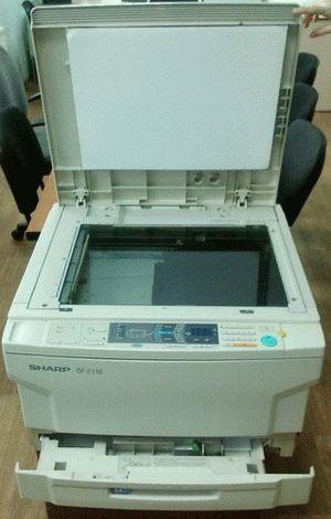 ремонт принтера SHARP SF-2116