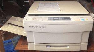 ремонт принтера SHARP SF-2216