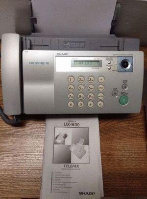 ремонт принтера SHARP UX-B30