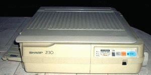 ремонт принтера SHARP Z-30