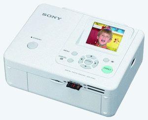 ремонт принтера SONY DPP-FP65