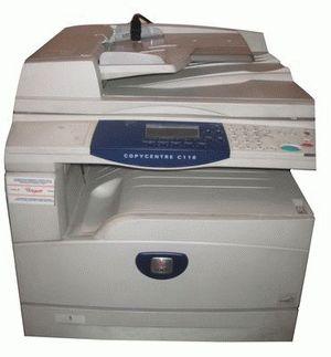 ремонт принтера XEROX COPYCENTRE C118