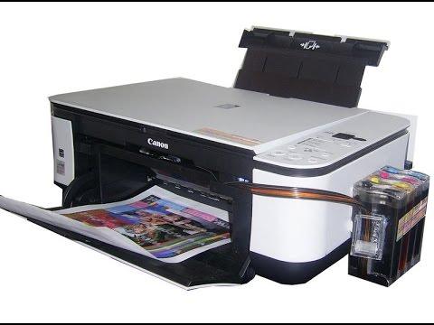 принтер кэнон мг 2440 не печатает после заправки