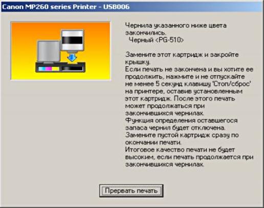 как обнулить принтер canon mg2440 после заправки