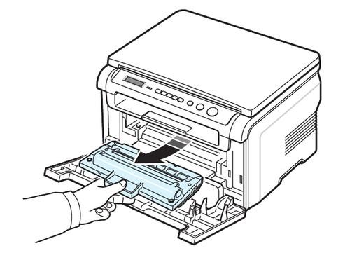 Как установить картридж в принтер HP