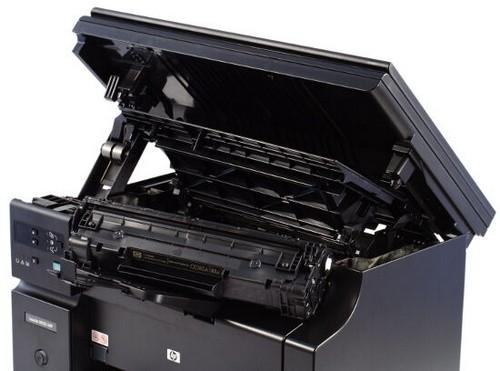 Как вставить в принтер картридж HP
