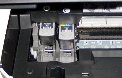 принтер струйный печатает с полосами что делать canon