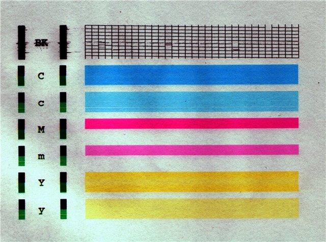 принтер кэнон печатает полосами что делать