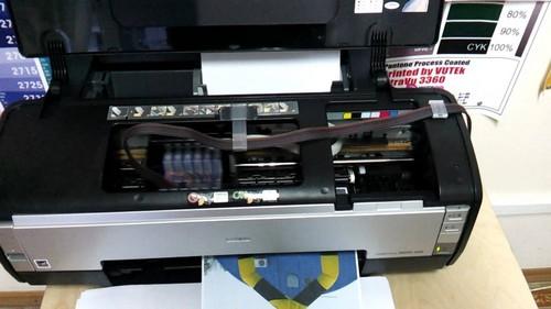 Принтер epson струйный с снпч