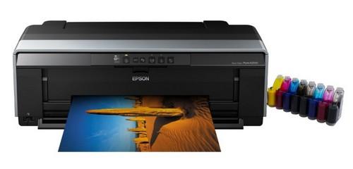 Принтер с непрерывной подачей чернил epson