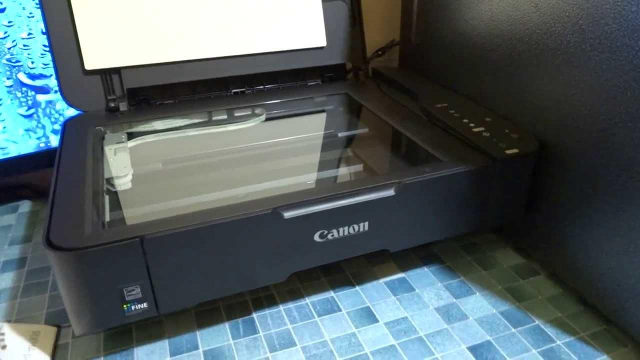 как удалить застрявшую бумагу из принтера canon