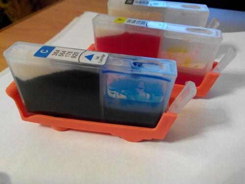 как проверить краску в принтере hp