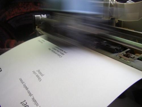 как распечатать пробную страницу на hp