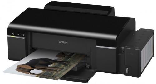 как в принтере epson поменять чернила