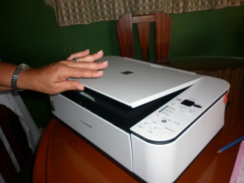 почему принтер canon не сканирует