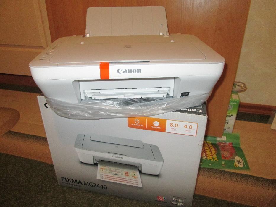 Почему принтер кэнон не печатает хотя краска есть