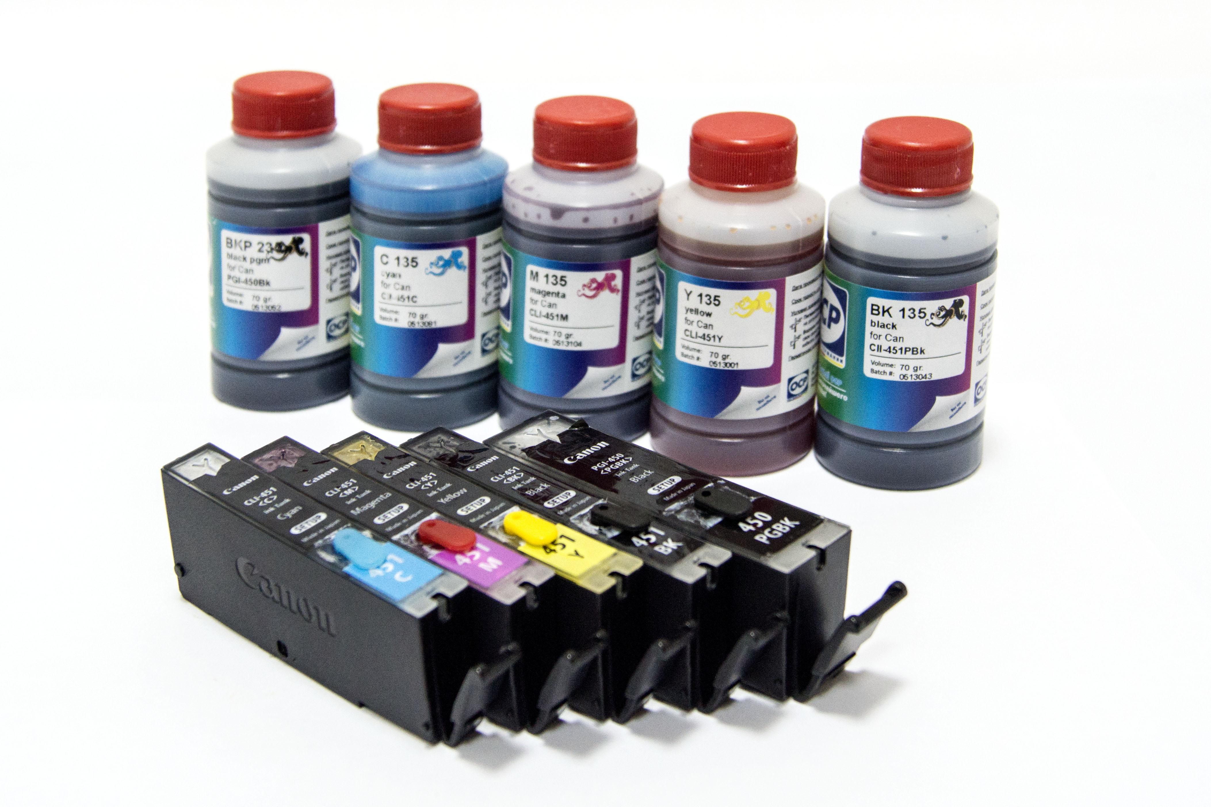Краска для принтеров своими руками 283
