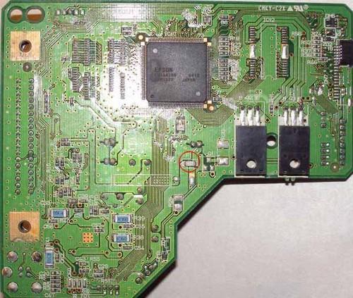 принтер epson l110 не включается