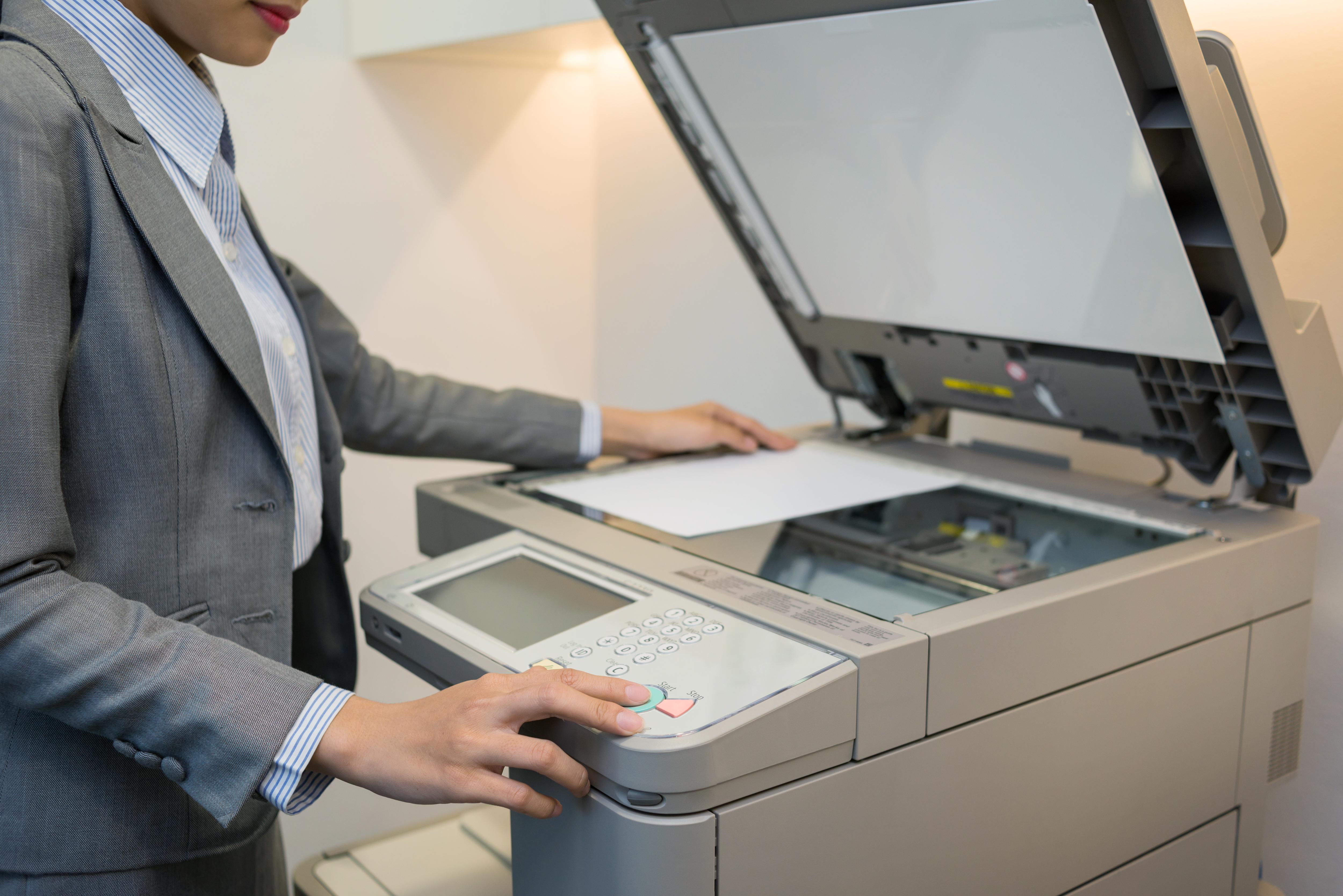 как сделать ксерокопию на принтере canon