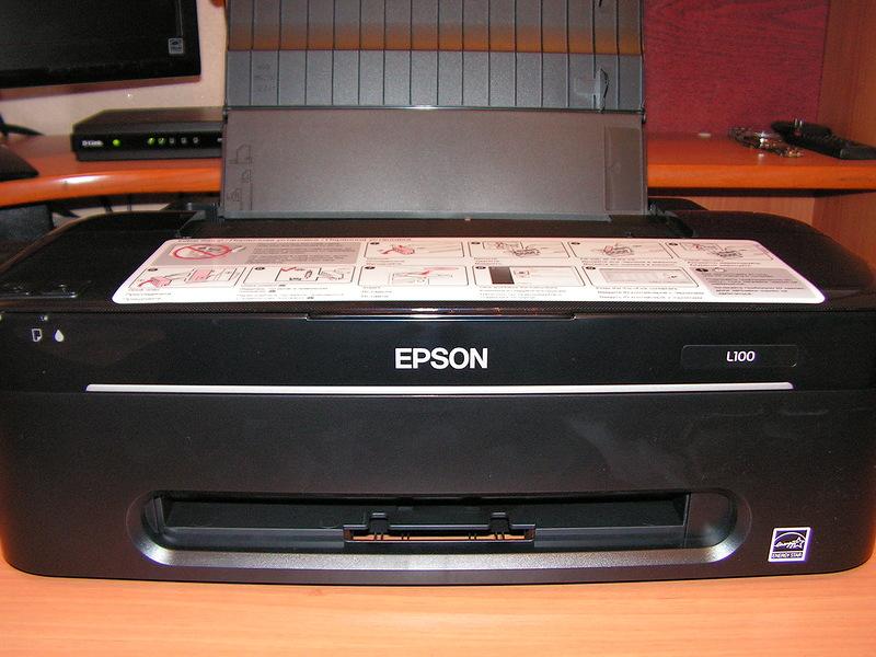 Как отключить статус монитор принтера Epson
