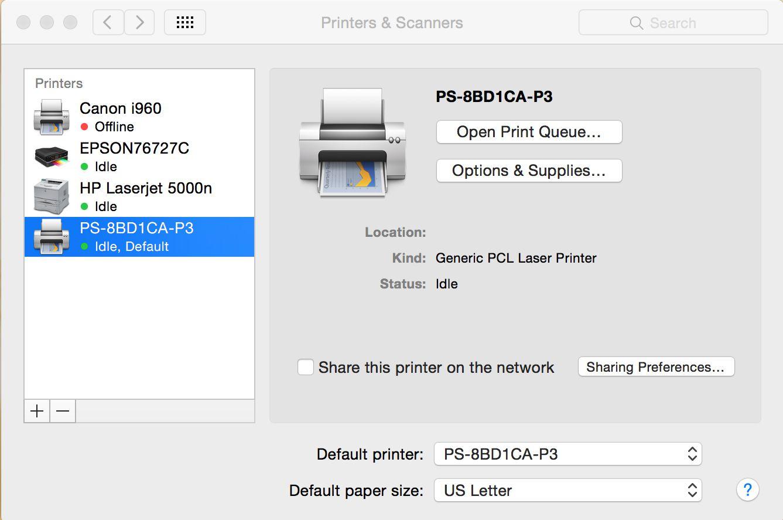 подключение кэнон принтера через wifi