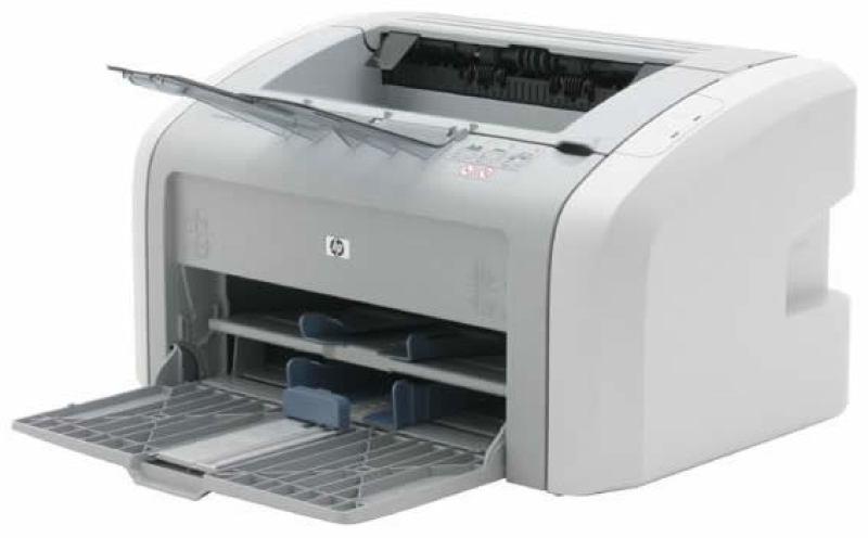 не печатает принтер hp 1020
