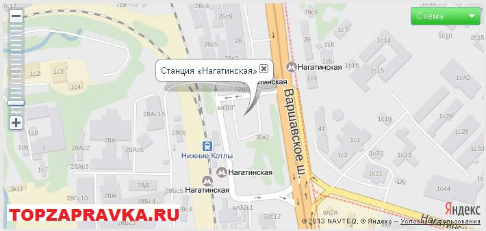 ремонт принтера, заправка картриджей метро Нагатинская