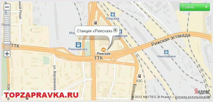 ремонт принтера, заправка картриджей метро Рижская