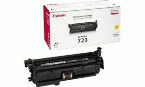 Заправка картриджа Canon 723Y (2641B002)