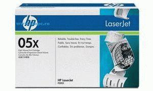 Заправка картриджа HP 05X (CE505X)