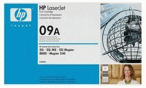 Заправка картриджа HP 09A (C3909A)