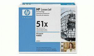Заправка картриджа HP 51X (Q7551X)
