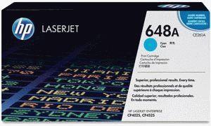 Заправка картриджа HP 648A (CE261A)
