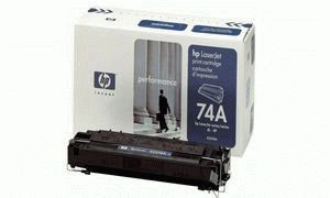 Заправка картриджа HP 74A (92274A)