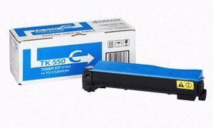 Заправка картриджа Kyocera TK-550C (1T02HMCEU0)