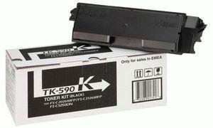 Заправка картриджа Kyocera TK-590K (1T02KV0NL0)