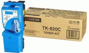 Заправка картриджа Kyocera TK-820C (1T02HPCEU0)