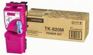 Заправка картриджа Kyocera TK-820M (1T02HPBEU0)