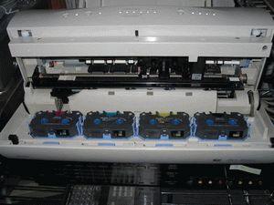 ремонт принтера ALPS MD-4000