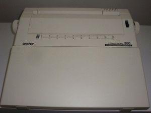 ремонт принтера BROTHER CORRECTRONIC 360