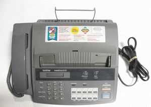 ремонт принтера BROTHER INTELLIFAX-610