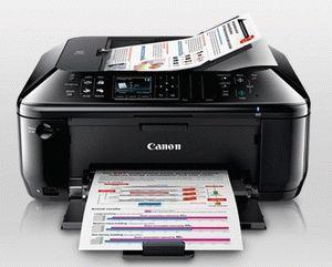 ремонт принтера CANON PIXMA MX517