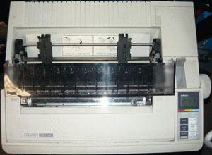 ремонт принтера CITIZEN GSX-140