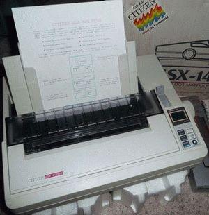 ремонт принтера CITIZEN GSX-140 PLUS